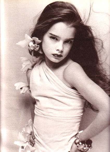 Young Brooke Shields Baby