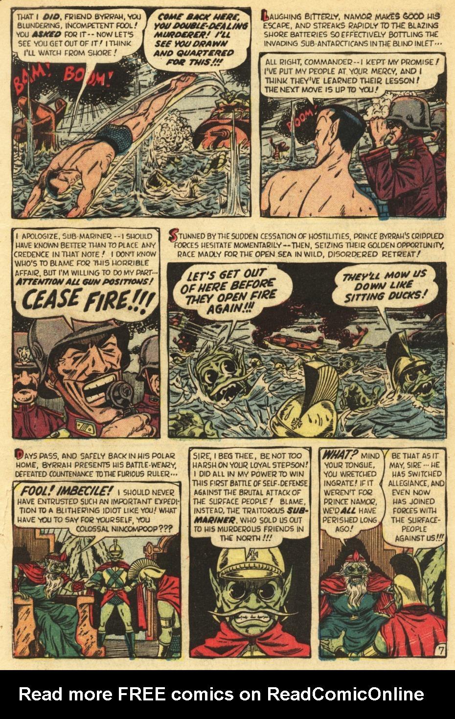 Sub-Mariner Comics #35 #35 - English 9