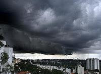 São Paulo da garoa, chuva fraca, chuva forte e temprestade