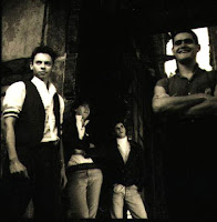 Banda na época da gravação