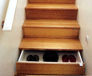 Escada gaveta