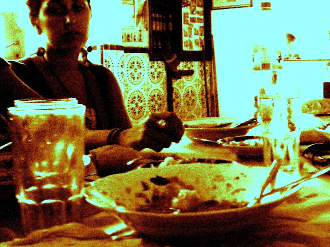 un plat a taula de la Kasba