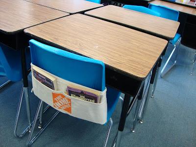 Your Teacher's Aide: DIY Seat Sacks