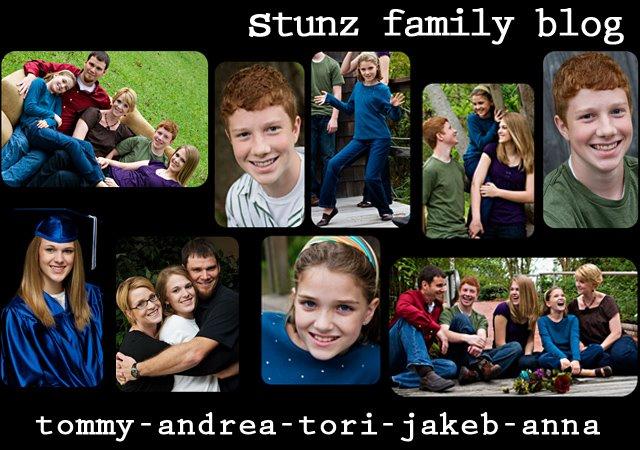 stunz family blog