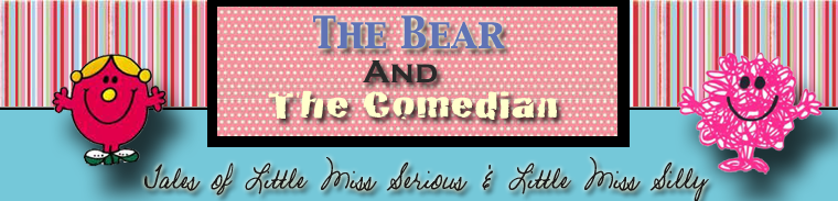 The Bear And The Comedian (parenting after loss)
