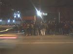 Bancários de São Paulo foram barrados na porta do sindicato