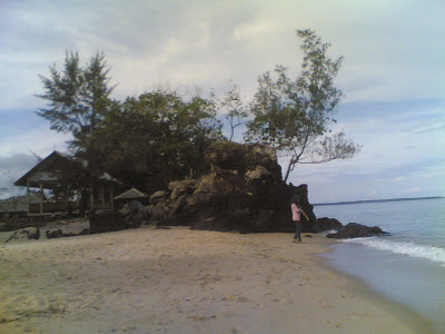 dabo singkep wisata alam pantai batu berdaun 7