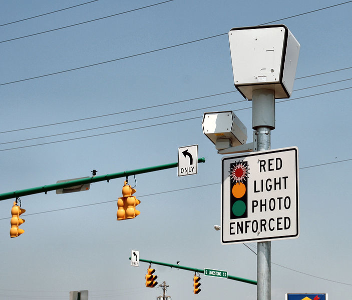 A Typical Red Light Camera Intersection Has Cameras Positioned At A Corner Of An Intersection On Poles A Few Yards High The Video And Po Cameras Point