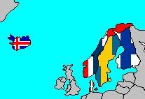 Scandinavian Cross Flag Family