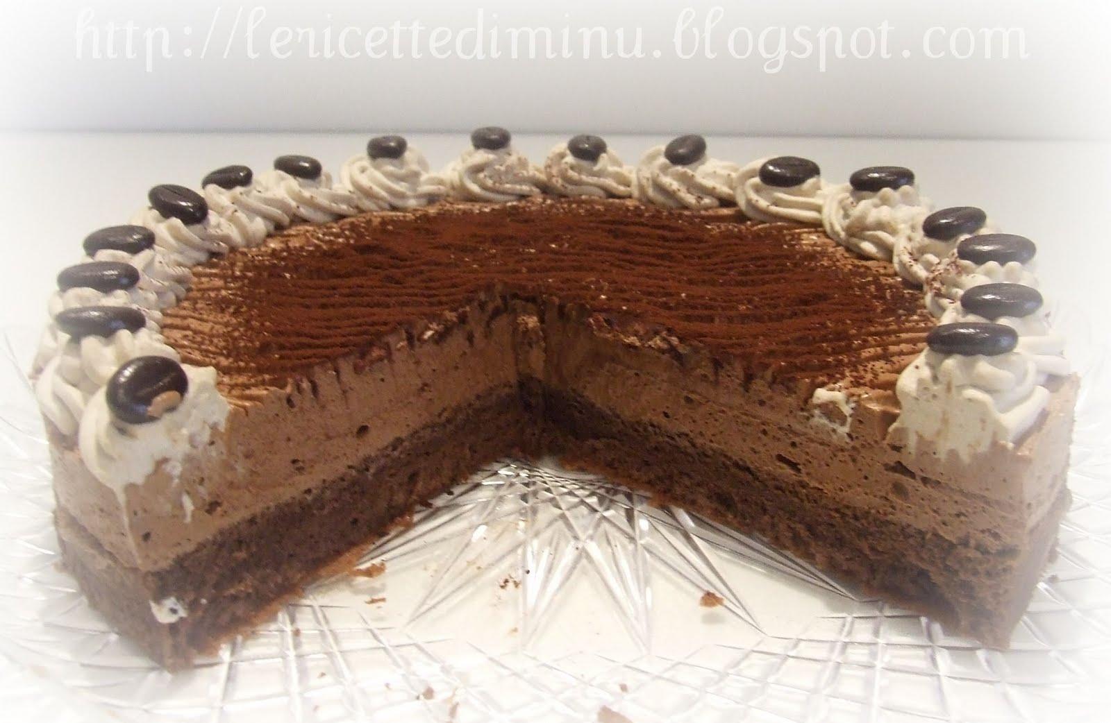 Ricette torta semifredde al cioccolato