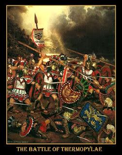 La Bataille de Thermopyles. The_Battle_of_Thermopylae