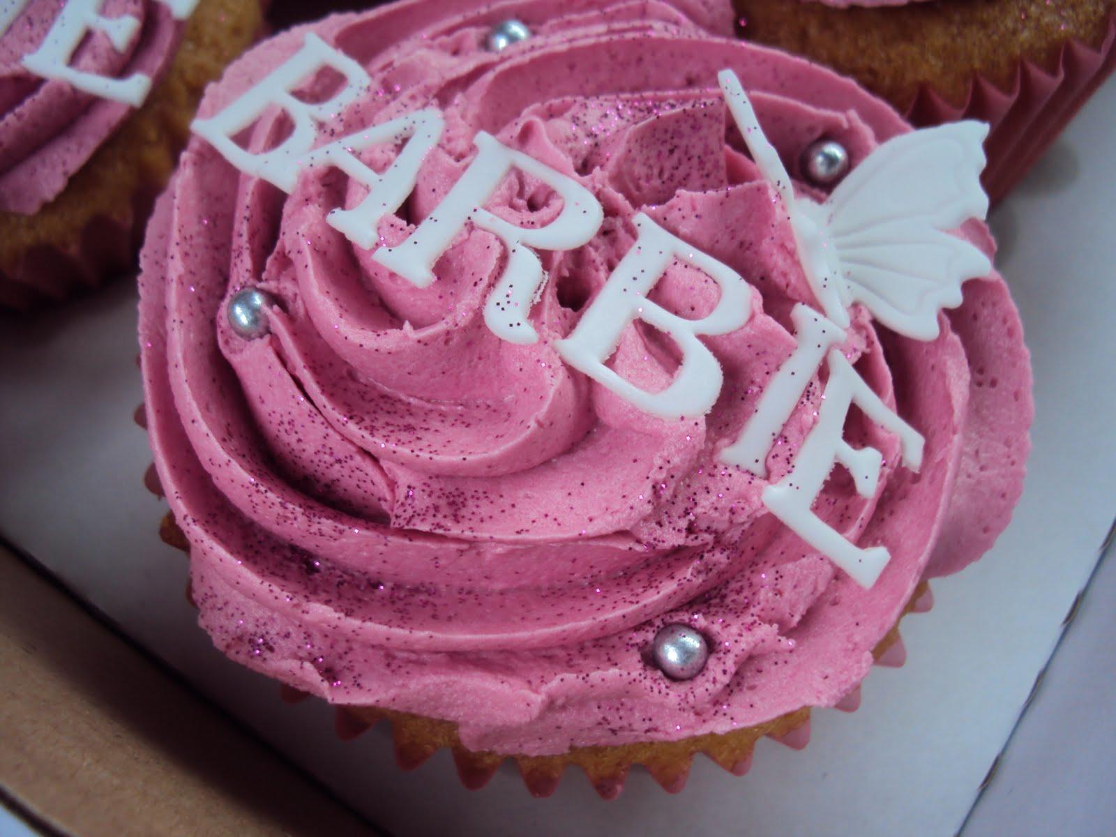 Barbie Cupcake Cake
