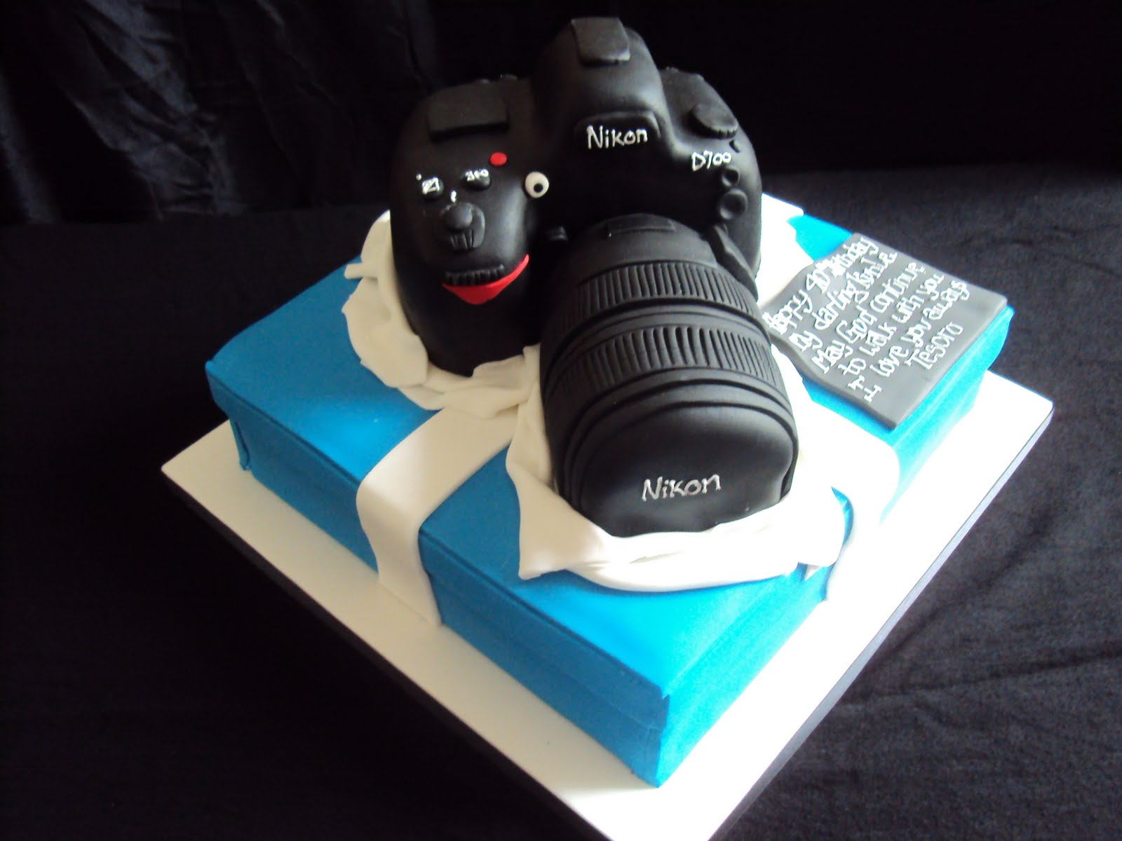 Camera Images For Cake : MIMI TO YOU - SWEET AND STYLISH CAKES: Strike a Pose ...