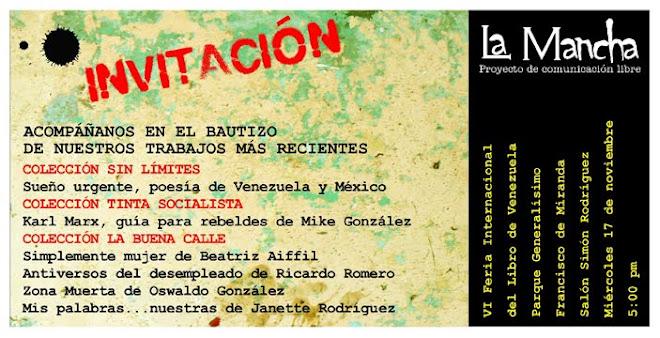 VI Feria Internacional del Libro de Venezuela capítulo Caracas 2010