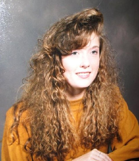 80s curly bangs - frompo
