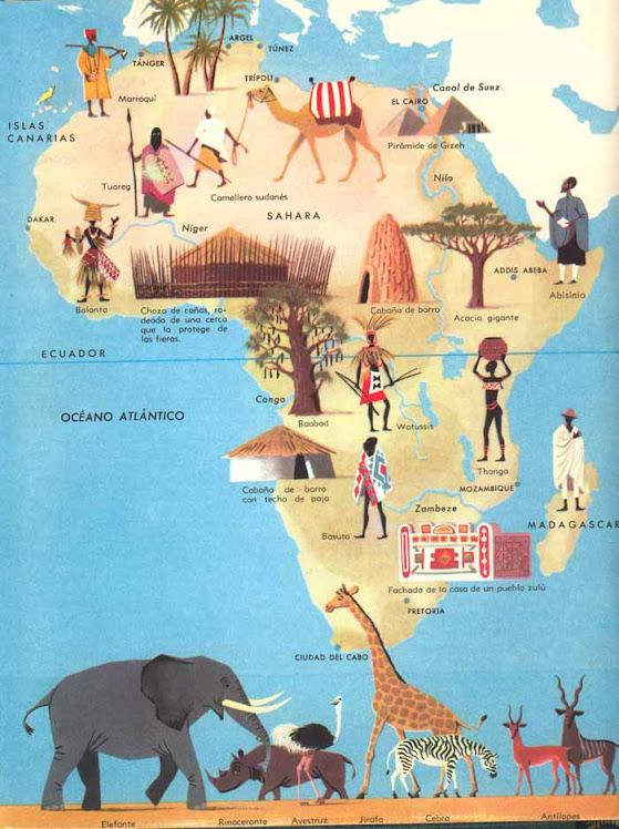 Africa y sus animales