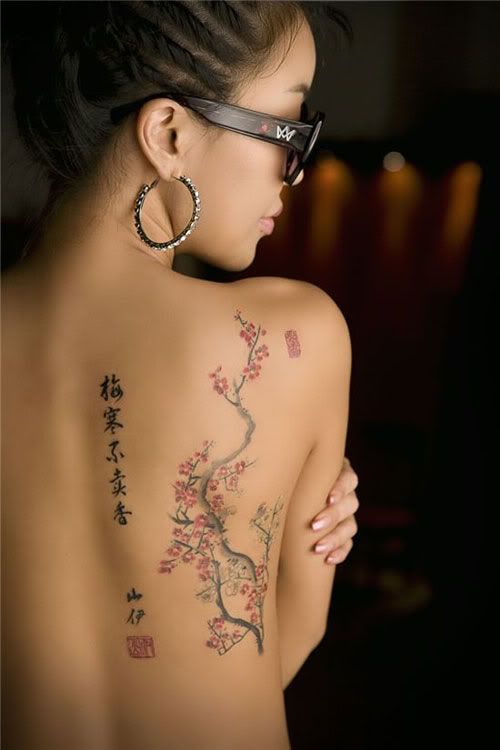 Shoulder Tattoos Women
