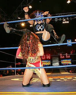 La Amapola - lucha - lucha libre