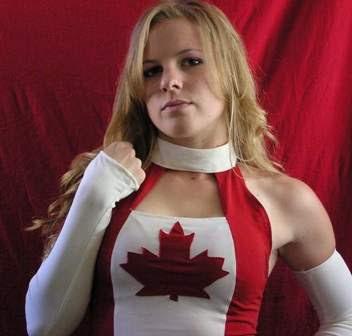 """The Canadian Goddess"" Candice LeRae"