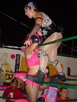 Poly Star - Arianna - lucha libre