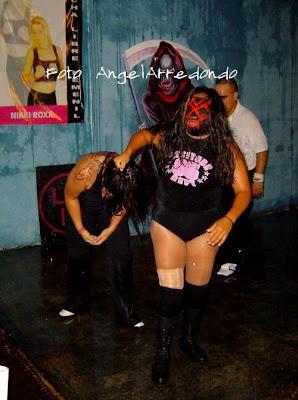 Vampiresa - Shira - luchadora - luchadoras