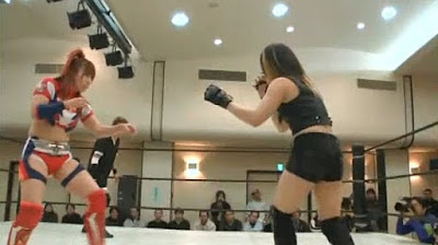 Kana - Mio Shirai - female wrestling - sexy japan