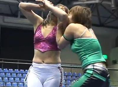 Tomoka Nakagawa - Mima Shimoda - japanese female wrestling