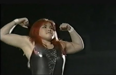 Candy Okutsu - female wrestling - japanese women - women wrestling