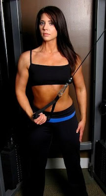 Julie Comer, fitness model, personal trainer