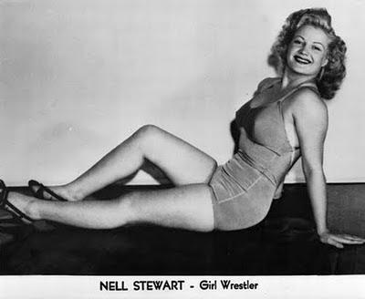 Nell Stewart - women wrestling - women of wrestling