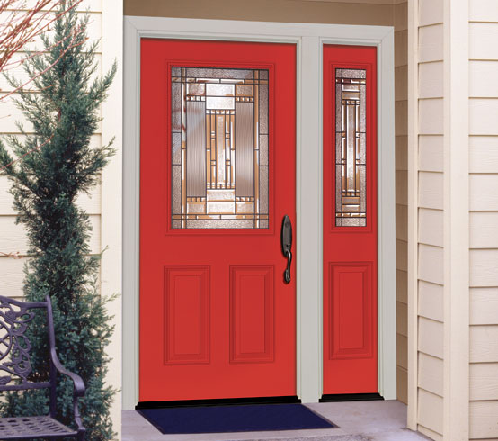 Feather River Doors Colorful Front Doors