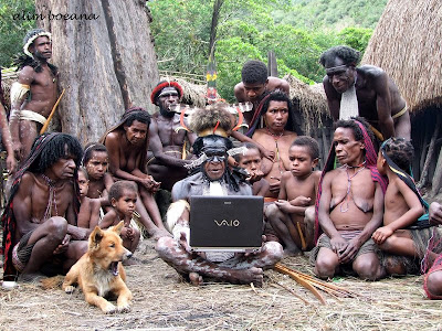 Papua laptop