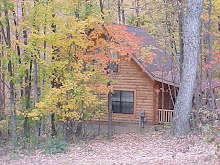 McKinley Log cabin rental