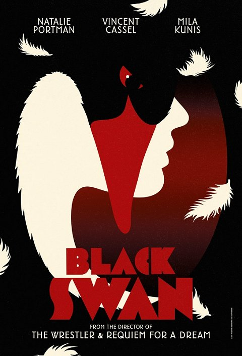 Black Swan Poster Design