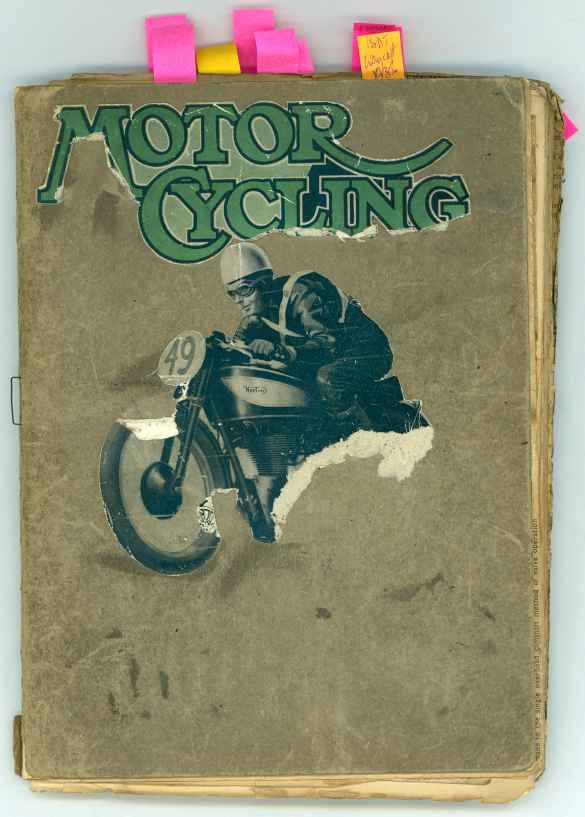 The Velobanjogent A Little Motorcycle Scrapbook From The S