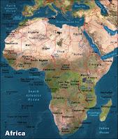 Gacekblog: Geo Quiz #19: Africa Physical Features