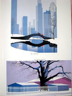 Eyvind Earle Christmas Cards