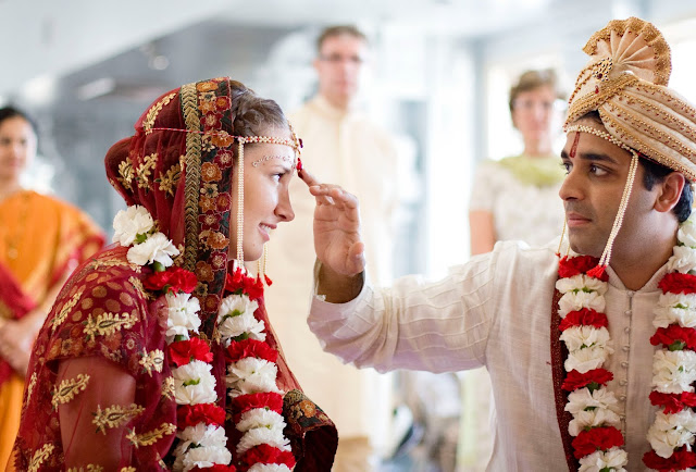 Hindu wedding ceremony by Atlanta wedding photographer