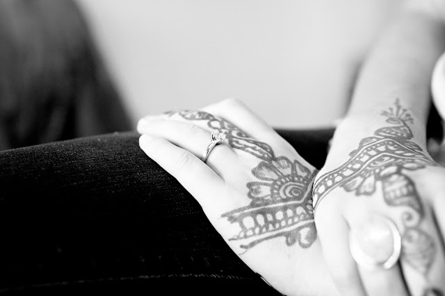 Atlanta wedding photographer henna tattoo hands bride