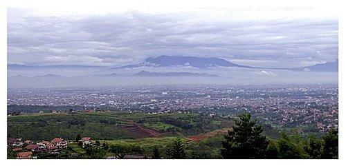 Bandung over view