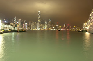 Shots of Kowloon Island Trip:Night Scene of Hong Kong from Kowloon
