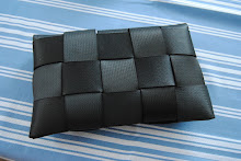 Bilbältes handväska