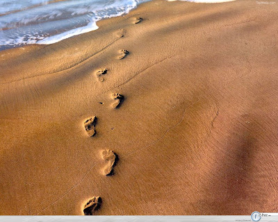 when you see only one set of footprints,. it was then I carried you.""