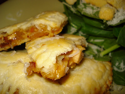Savory Chicken Pocket Pies - Oh Sweet Basil