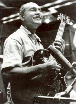 Joe Pass on Archtop Guitar