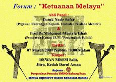 Forum Ketuanan Melayu