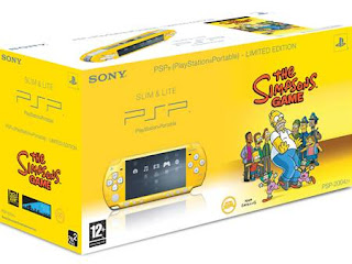 Sony  simpsons psp