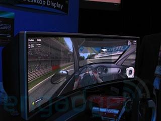 NEC 2880 x 900 panoramic gaming monitor