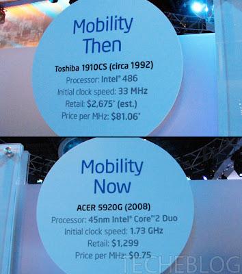 Mobility comparison