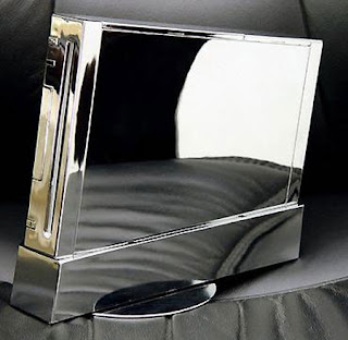 Nintendo Wii case 3 - Chrome
